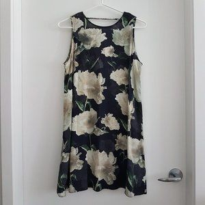 & Other Stories Sleeveless Open-Back Floral Dress